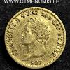 ITALIE 20 LIRE OR CHARLES FELIX 1827 TURIN