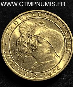 ROUMANIE 20 LEI OR 1944