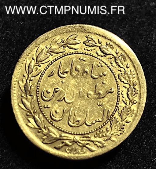 IRAN 1/2 TOMAN OR 1318 1,30 gr