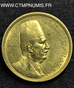 EGYPTE 100 PIASTRES OR 1340 (1922) SUP/SPL