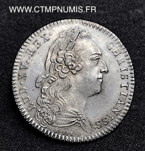 JETON ARGENT BRETAGNE LOUIS XV 1772 MORLAIX