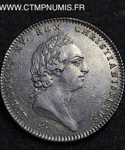JETON ARGENT LANGUEDOC LOUIS XV 1750