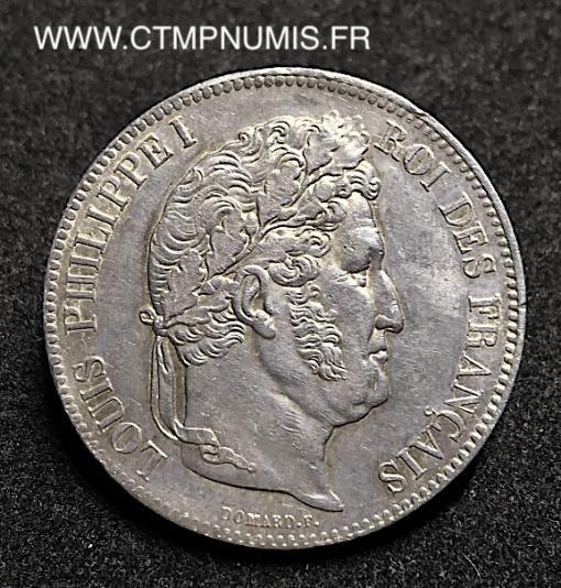 5 FRANCS ARGENT LOUIS PHILIPPE I° 1832 ROUEN