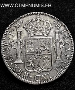MEXIQUE 8 REALES CHARLES IIII 1793 FM MEXICO
