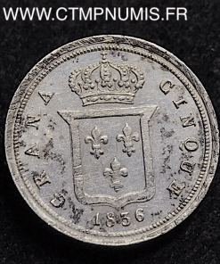 ITALIE DEUX SICILE 5 GRANA ARGENT 1836 NAPLES