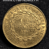 100 FRANCS OR GENIE 1882 A PARIS TTB
