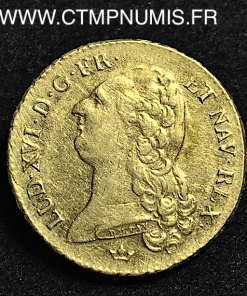 LOUIS XVI DOUBLE LOUIS D'OR 1790 M TOULOUSE