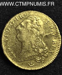 DOUBLE LOUIS D'OR BUSTE NU 1791 M TOULOUSE