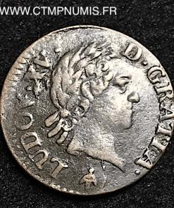 LOUIS XV LIARD VIEILLE TETE 1774 M TOULOUSE