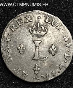 LOUIS XV SOL DE BILLON 1740 M TOULOUSE RARE