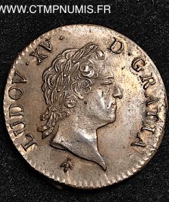 LOUIS XV SOL A LA VIEILLE TETE 1769 M TOULOUSE