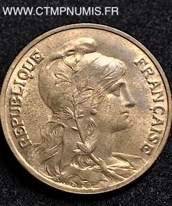 10 CENTIMES DANIEL DUPUIS 1911 SUP+