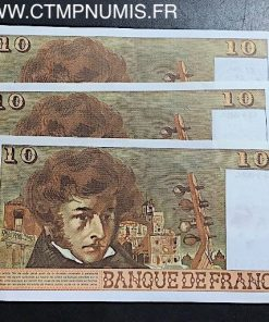 10 FRANCS BERLIOZ TYPE 1972 DU 2/03/1978 NEUF