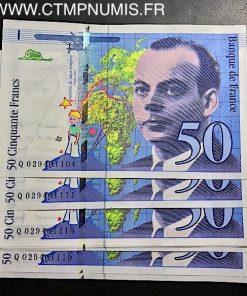50 FRANCS SAINT EXUPERY TYPE 1992 1996 NEUF