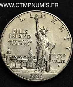 USA 1 DOLLAR ARGENT 1986 SPL