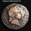 LOUIS XV SOL A LA VIEILLE TETE 1771 M TOULOUSE