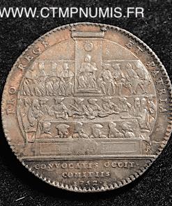 JETON ARGENT LANGUEDOC 1752 LES ETATS REUNIS