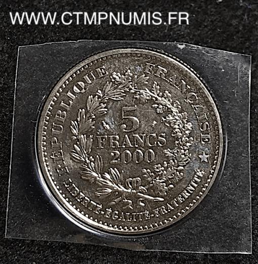 5 FRANCS LA LIBERTE DE DUPRE 2000 SPL