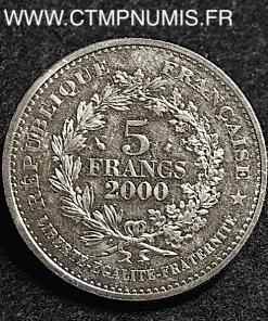 5 FRANCS STATERE DES PARISII 2000 SPL