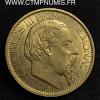 MONACO 100 FRANCS OR CHARLES III 1884 A PARIS
