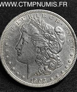 USA 1 DOLLAR ARGENT 1903 TTB+