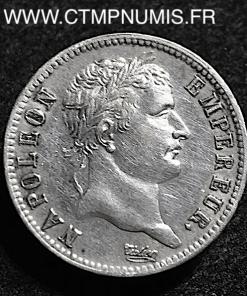 1 FRANC ARGENT NAPOLEON I° EMPIRE 1813 A PARIS