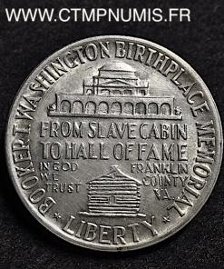USA 1/2 DOLLAR ARGENT BOOKER T. WASHINGTON 1946 SUP