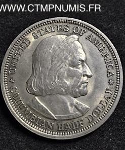 USA 1/2 DOLLAR ARGENT COLUMBIAN EXPOSITION 1893