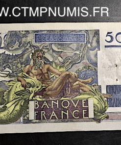BILLET 50 FRANCS LEVERRIER  DU 3 OCTOBRE 1946