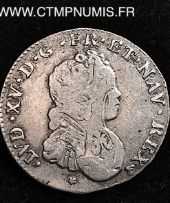 LOUIS XV 1/10 ECU VERTUGADIN 1716 M TOULOUSE