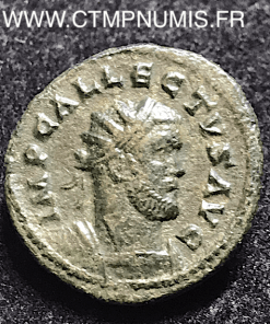 EMPIRE ALLECTUS AURELIANUS R/ GALERE COLCHESTER