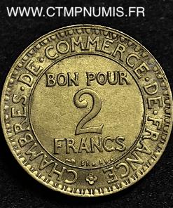 2 FRANCS DOMARD CHAMBRES DE COMMERCE 1920