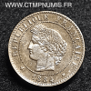 1 CENTIME CERES 1884 A SUP+
