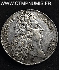 JETON ARGENT LOUIS XIV SANGLIER 1707