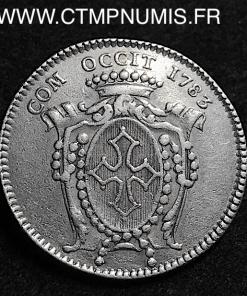 JETON ARGENT LANGUEDOC LOUIS XVI 1783