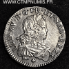 LOUIS XV 1/6 ECU ARGENT DE FRANCE 1721 TOULOUSE