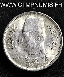 EGYPTE 2 PIASTRES ARGENT 1942
