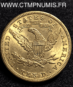 USA 10 DOLLARS OR EAGLES 1901