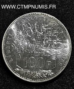100 FRANCS ARGENT PANTHEON 1989 SPL