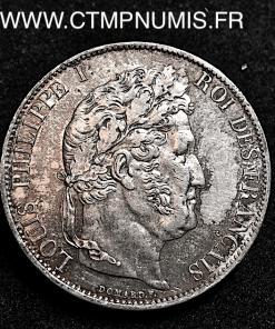 5 FRANCS ARGENT LOUIS PHILIPPE I° 1846 A PARIS
