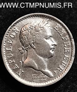 QUART DE FRANC NAPOLEON EMPIRE 1809 PARIS