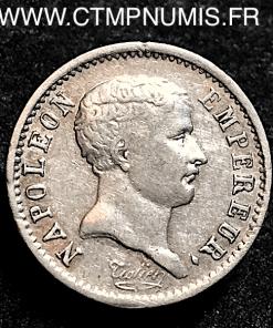 1/4 FRANC NAPOLEON TETE DE NEGRE 1807 PARIS