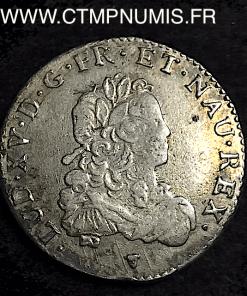 LOUIS XV 1/3 ECU DE FRANCE 1720 TOULOUSE