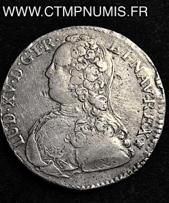LOUIS XV 1/2 ECU AUX 1727 M TOULOUSE