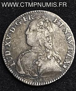LOUIS XV 1/2 ECU ARGENT 1729 M TOULOUSE
