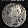 LOUIS XV 1/2 ECU AU BANDEAU 1741 M TOULOUSE