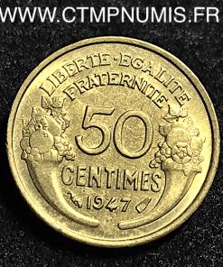 50 CENTIMES MORLON 1947 TTB+/SUP