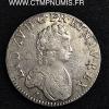 LOUIS XV ECU VERTUGADIN 1716 M TOULOUSE