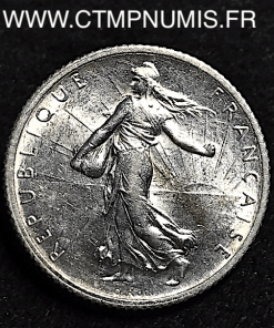 1 FRANCS SEMEUSE ARGENT 1904 SPL