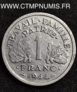 1 FRANC 1944 PETIT C CASTELSARRAZIN